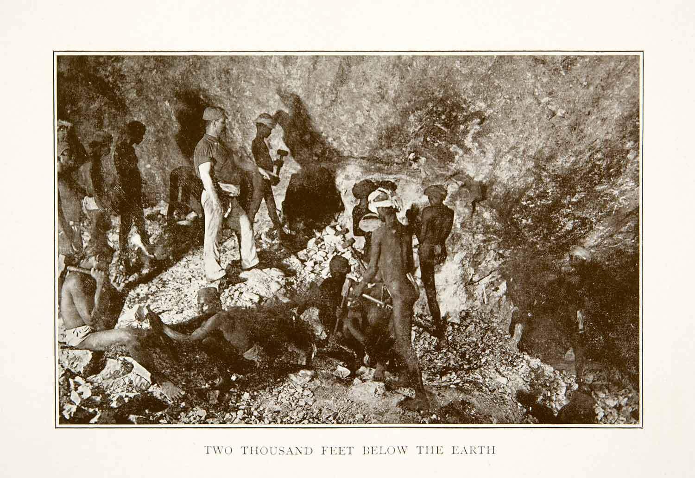 1907, கோலார் தங்க வயல். 2000 அடிகள்.